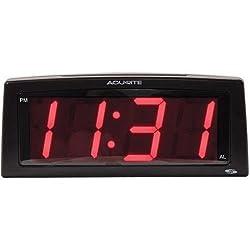 Chaney Instruments 13003A2 AcuRite 7 Intelli-Time Digital Alarm Clock 13003