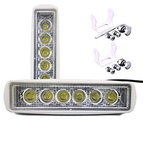 YIDAZN LED Spreader Deck Floodlights for Trucks Boat light Off Road Waterproof led DRL Bar car and led yacht lights18W 6.2