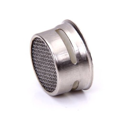 SODIAL(R) Kitchen/Bathroom Faucet Sprayer Strainer Tap Filter---White and Silver by SODIAL(R) (Image #5)
