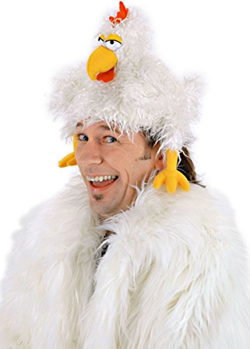Morris Costumes Men's HAT THE CLUCKER, 56-59 cm heads (22.5 inches) (The Clucker Hat)