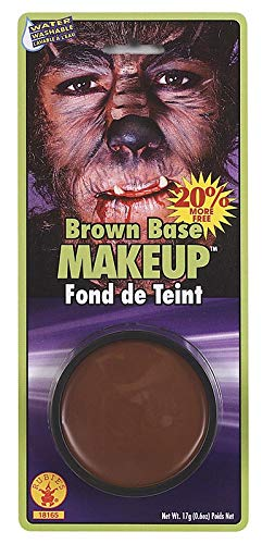 Rubie's Costume Co. 18165 Grease Paint Makeup-Brown Costume, Standard, Multicolor (Pack of -