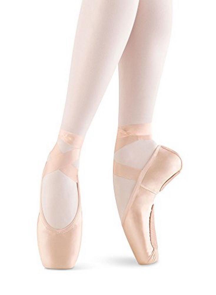 Bloch Women's Eurostretch Pink Ballet Flats 5.5 (3X)