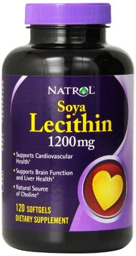 Natrol соевый лецитин биодобавки, 1200 мг, 120-Граф