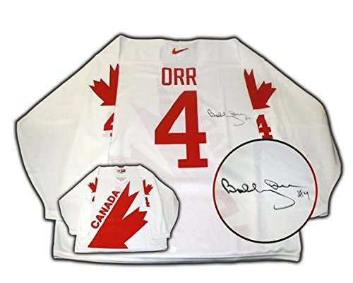 Bobby Orr Signed Jersey - Bobby Orr Signed Jersey Team Canada 76 Canada Cup Replica White - Autographed NHL Jerseys