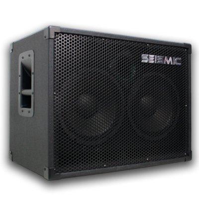 Seismic Audio 210 Bass Guitar Speaker Cabinet
