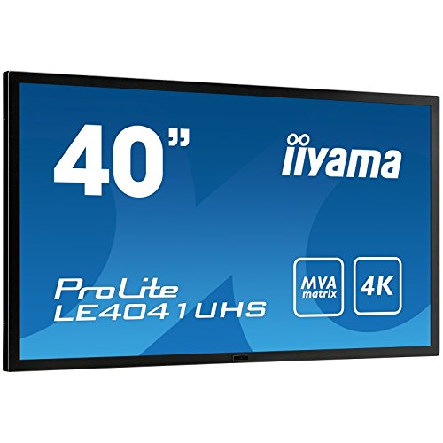 IIYAMA LE4041UHS-B1 - 40' 4K monitor with high contrast, MVA panel and robust metal bezel (Manufacturer's SKU:ProLite LE4041UHS-B1) by iiyama (Image #4)