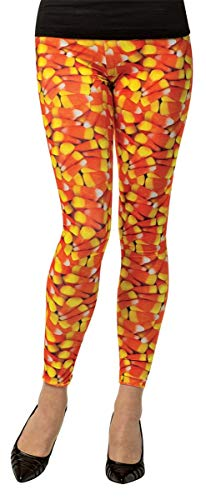 Candy Corn Adult Leggings -