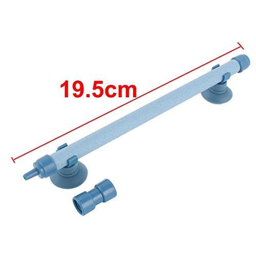 Amazon.com : eDealMax pecera acuario cuenco de Piedra de aire de pared del tubo de la burbuja 7.7 pulgadas de Largo Azul : Pet Supplies