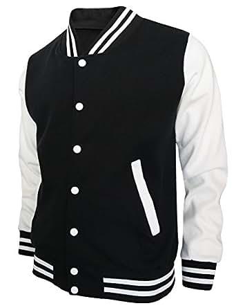 BCPOLO Baseball Jacket Varsity Baseball Cotton Jacket