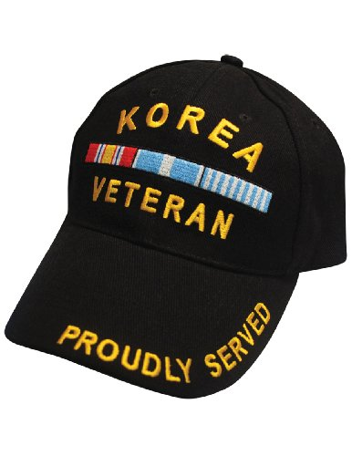 Black Military Veteran Proudly Served In Korean War Baseball Style Hat Cap