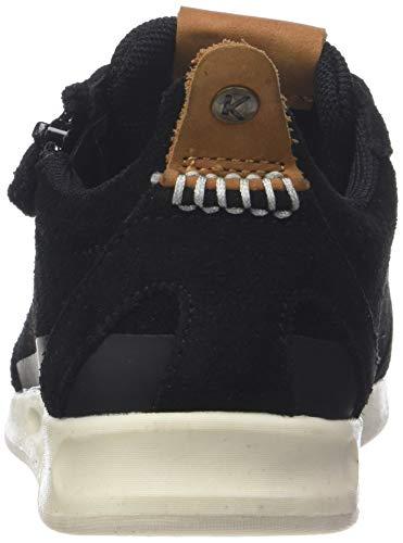 Baskets Noir noir 18 Zip Cdt Mixte Enfant Kickers 8 wx61q1