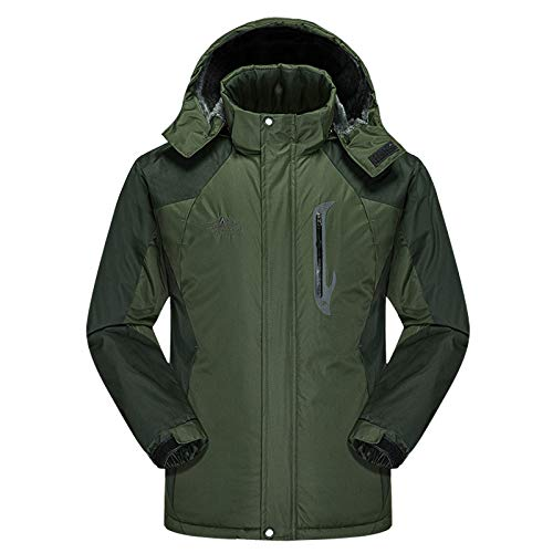 Cappotto E Army Uomo Men Antivento Impermeabile Donna Per Green UIqrYZSwUx