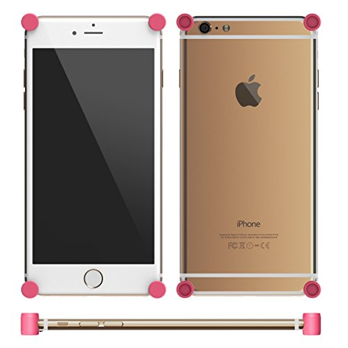 MOTA MT-BPi6-P Etui pour iPhone 6/6S/6 Plus/6S Plus Rose