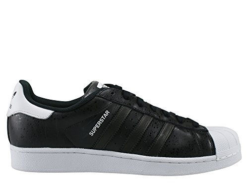 adidas Superstar, Scarpe da Ginnastica Basse Uomo Nero