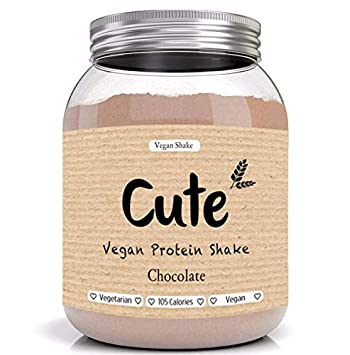 Cute Nutrition Batido de Proteínas Vegano Sabor Chocolate Sin ...