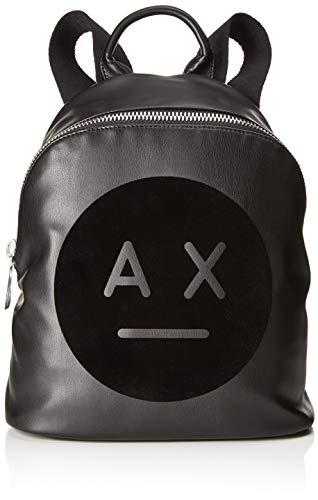 Armani 0x27 Cm 0 Zainetto 31 Graphic H T Borse b Donna Backpack A 0x15 Exchange Nero X Logo rUprP