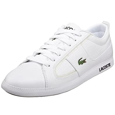 cb8abfe683481 Lacoste Observe Trainers White Blue Mens Trainers Shop Mens Trainers ...