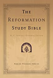 Reformation Study Bible-ESV-black leather, 2d Ed with maps