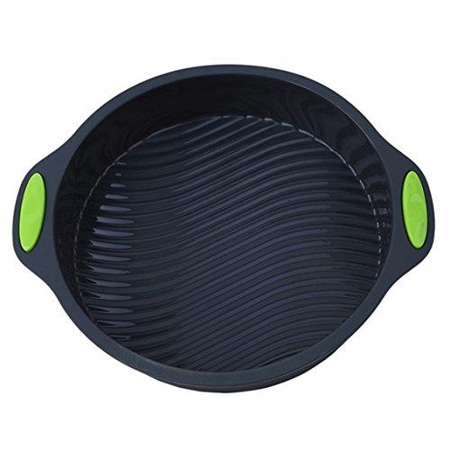 Dolland Round Tray Nonstick Flexible Silicone Oven Cake