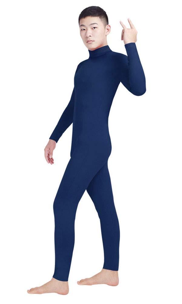 Insun Unisexe Déguisement Combinaison Corps Entier Zentai Pure Couleur Bodysuit