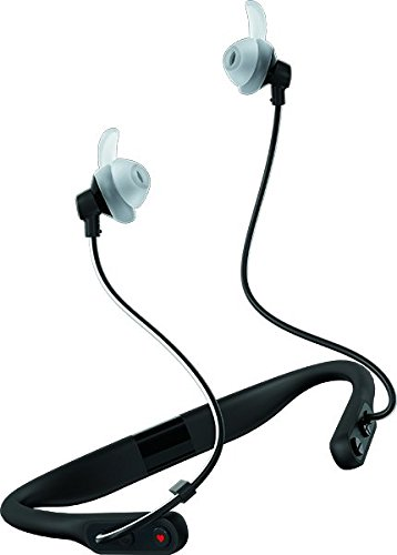 JBL Reflect Fit by Harman in-Ear Wireless Headphones with Heart-Rate Monitor (Black) 2021 July JBL Signature Sound Live heart rate feedback Quick Launch Access to Google Assistant / Siri.