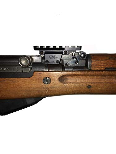 SKS Tactical/Hunting Rifle Red Dot Picatinny Weaver Rail Black Scope