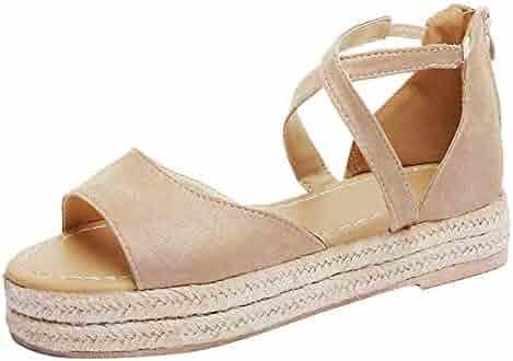 5fc48b409bd68 Shopping Zip - 2 Stars & Up - Platforms & Wedges - Sandals - Shoes ...