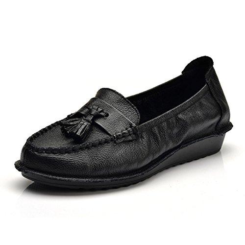 Zapatos de otoño/Zapatos de fondo suave para madre cabeza/Zapatos del ocio A