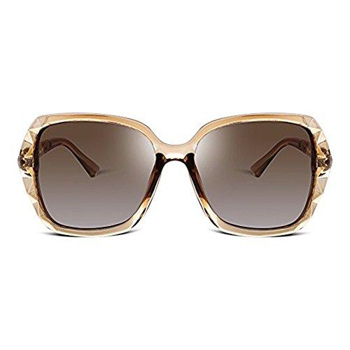 2ec6bb558e0 2018 Women Classic Oversized Polarized Sunglasses Fashion Modern Shades 100%  UV Protection