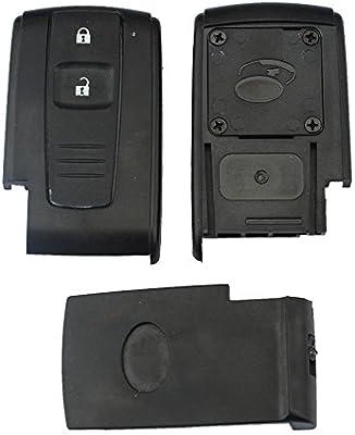 2 Botón Carcasa de mando key para Toyota Prius