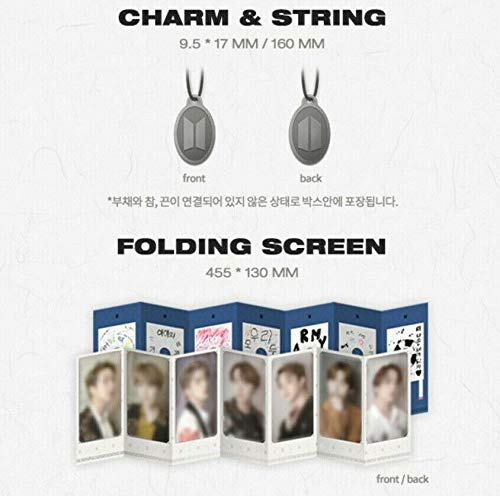 BTS Bangtan Boys - 2019 BTS Summer Package DVD+192p Photobook+Paper  Fan+Charm&String+Folding Screen+7 On Pack Mini Posters+On Pack Folding  Poster+20p