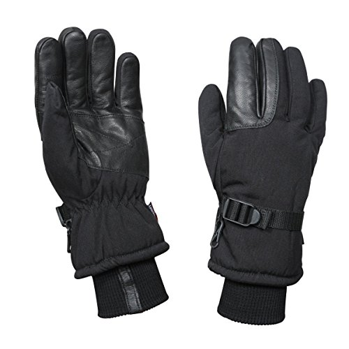 (Rothco Cold Weather Military Gloves, Black,)