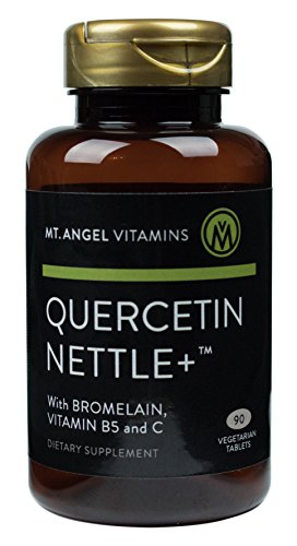 Mt. Angel Vitamins – Quercetin Nettle +, Natural Supplement for Sinus and Nasal Health, Seasonal Discomfort and Healthy Histamine Levels, 90 Vegetarian Tablets