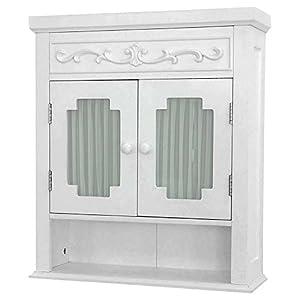 Elegant Home Fashions Lisbon Wall Cabinet