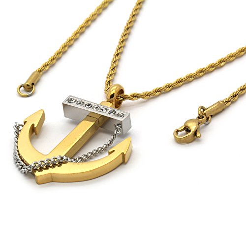 Small Anchor Pendant - 8
