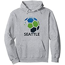 Seattle Soccer Hoodie Top Fan Pride Clothing Adult Attire