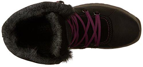 Santana Boots Snow Canada Black Women's Majesta nppfAw