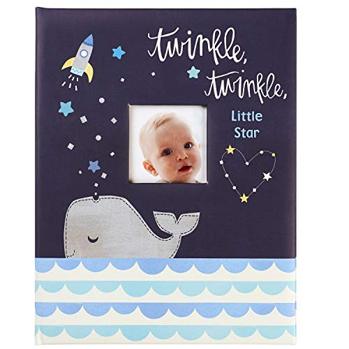 - C.R. Gibson ''Twinkle Twinkle Little Star'' Blue Baby Memory Book for Boys, 48 Pages, 9.1'' x 11.5''