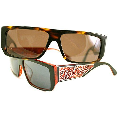 Black Flys Men's Sci Fly 4 Sunglasses S.BLK-RED/ - Sci Sunglasses