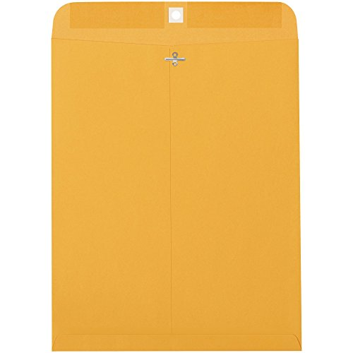 Top Pack Supply Clasp Envelopes, 12