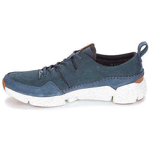 Blau Clarks Triactive Sneaker blau Run Herren CT8wqa0