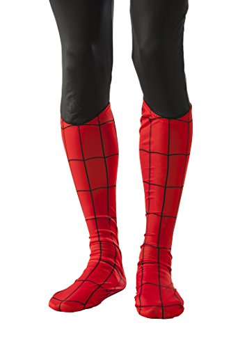 Rubie's Costume Men's Marvel Universe Adult Spider-man Boot Tops, Multi, One Size