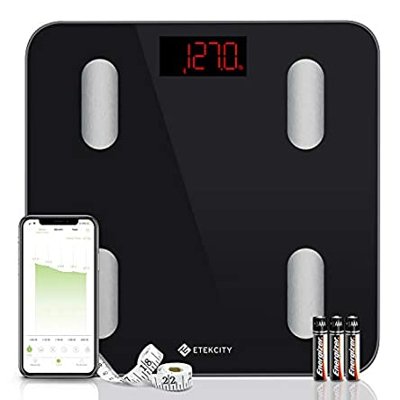 Etekcity Digital Body Weight Scale, Smart Bluetooth...