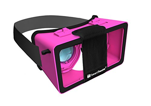 Virtual Reality Headset by SmartTheater (Pink)