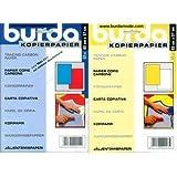Burda, carta carbone, colori: blu/rosso/giallo/bianco, 2 confezioni