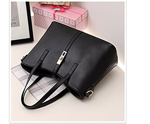 Honeymall mis de femmes femme Pu 4pcs en sac à cuir de uxe à sac mode de porte carte bandoulière main Honeymall Or epaule la monnaie 6wfxEXZ