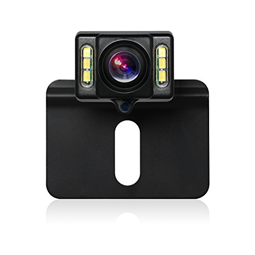 BOSCAM B1 HD Backup Camera with Waterproof Night Vision LEDs Reverse Camera and 170-Degree Wide Angle Back Up Car Camera for Cars Trucks Jeep SUV RV Van