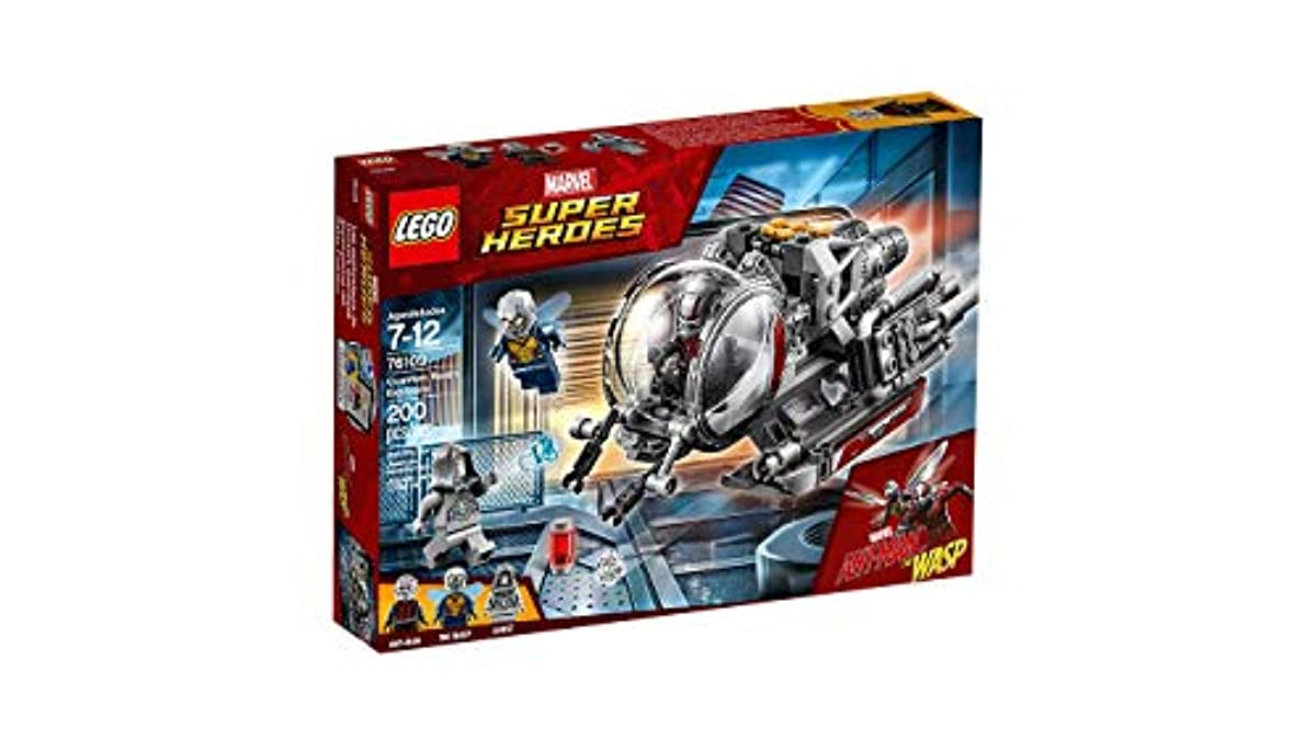 [레고 마블 히어로] LEGO Marvel Ant-Man Quantum Realm Explorers 76109 Building Set (200 Piece)