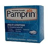 Pamprin Multi-Symptom Menstrual Pain Relief Caplets 20-Count