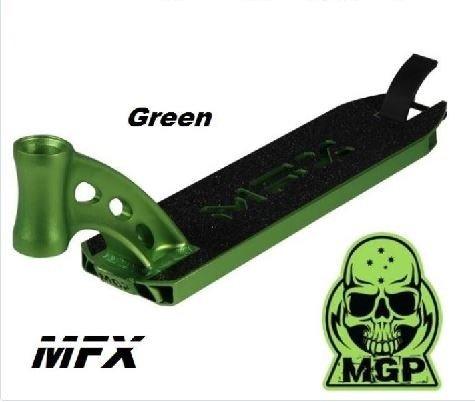 MGP Madd Gear MFX Deck 2014 Stunt-Scooter integrated Grün